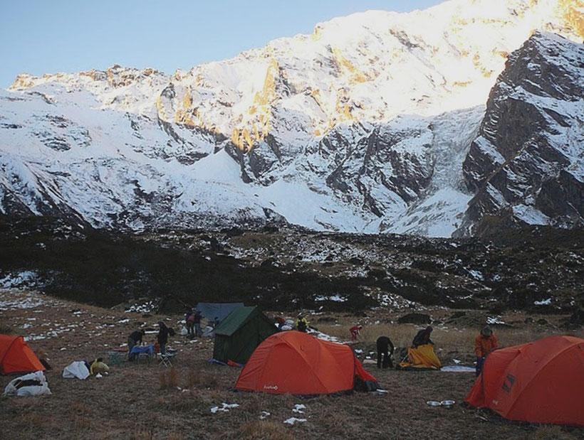 Trekking sous tente au Népal