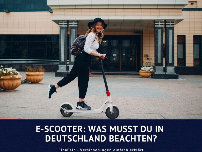 e-scooter, elektroroller, Vorschriften Deutschland