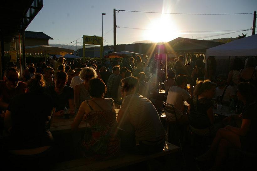 Soirée concert à l'Archimalt, microbrasserie, bar à bières et petit restaurant, Chambéry.