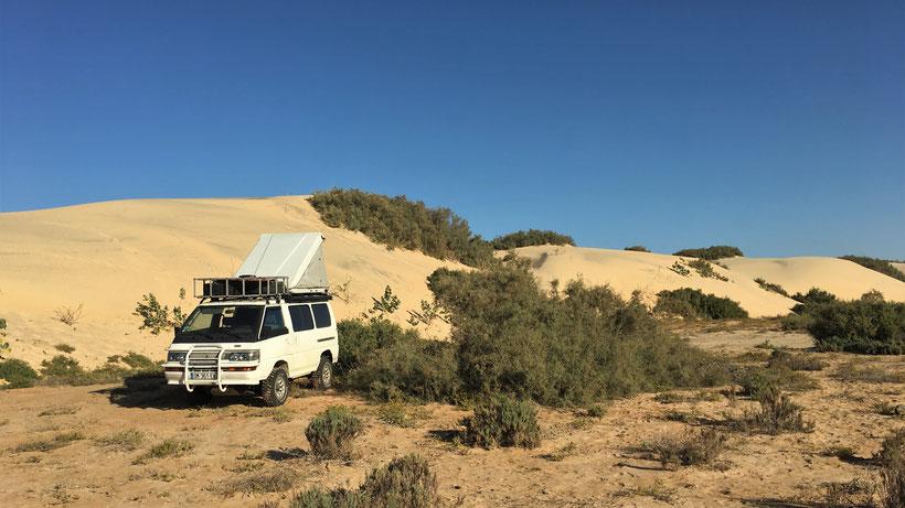 dunes de sable mauritanie