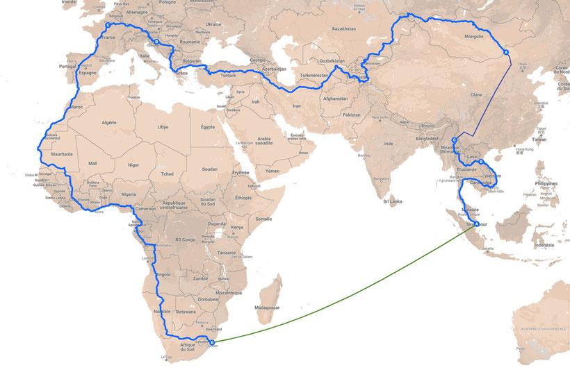 Traverser l'Afrique par la route en van