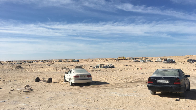 Nomad's land frontière maroc mauritanie
