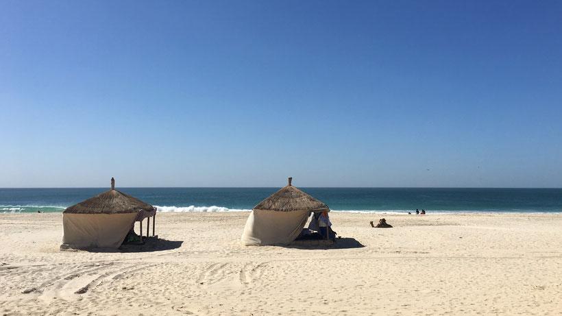 plage sable blanc mauritanie