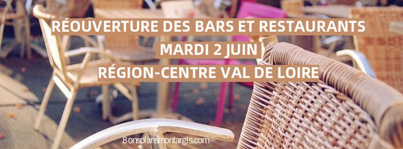 Réouverture des bars et restaurants en zone verte à partir du mardi 2 juin!