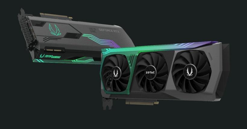 ZOTACが発表しているRTX30シリーズ