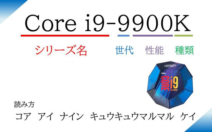 Intel CoreシリーズCPUの特徴