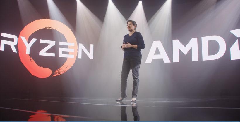 AMD CEO Dr. LisaよりAMD とRyzenの歴史について