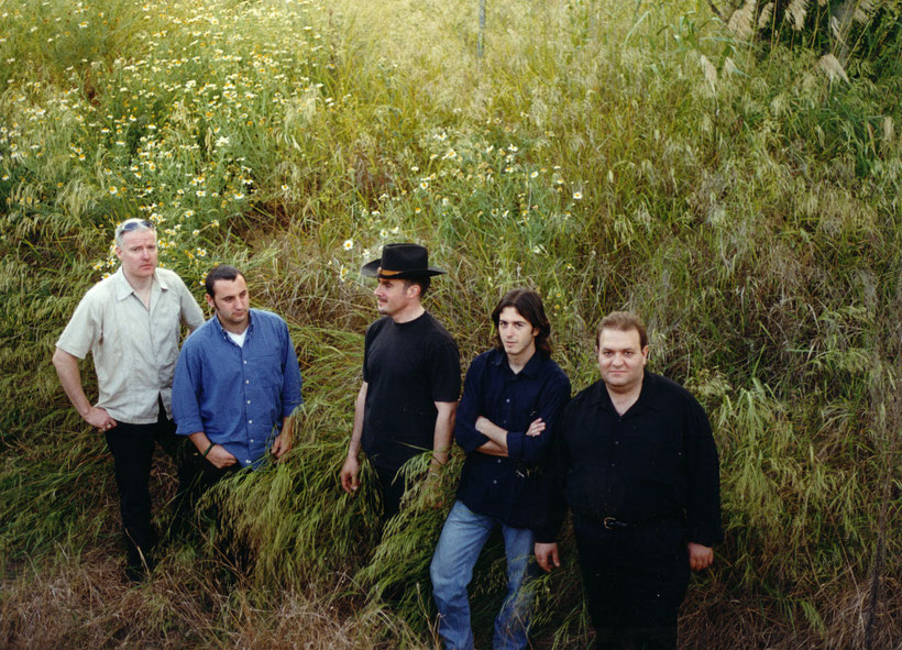 Publicity shot of Seville based rock group Showdown in Seville 2002