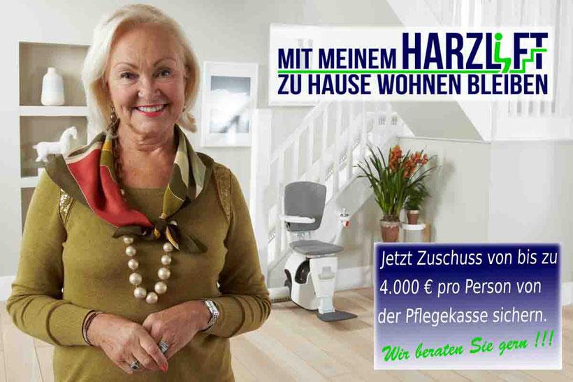 Firma und Anbieter für Treppenlifte, Seniorenlifte, Sitzlift  Treppenliftbau in Thüringen