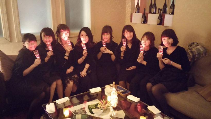 コスプレ女子会|クリスマス|六本木・西麻布|カラオケ|高級