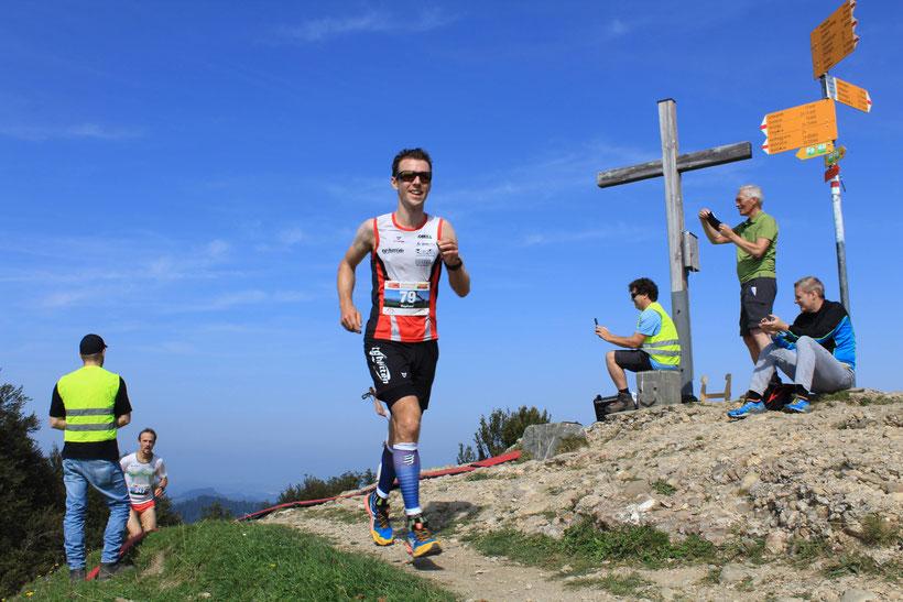 Tagessieger Raphael Sprenger auf dem Schnebelhorn