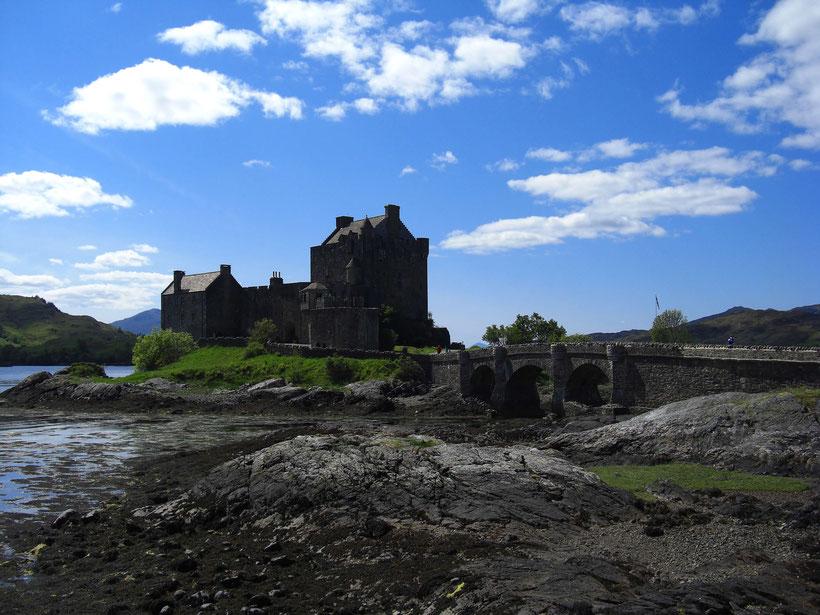 Eilean Donan Castle in June