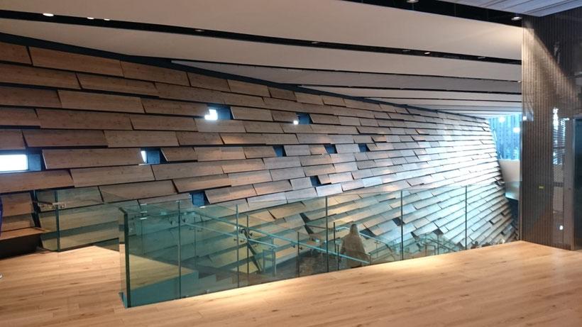 V&A Museum Dundee interior