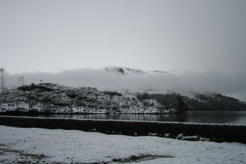 Low cloud over Loch Katrine in February