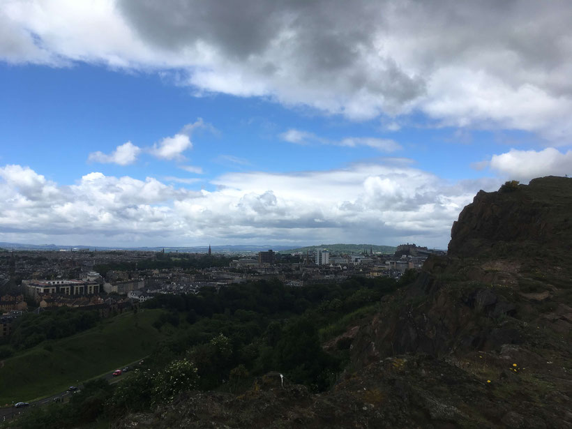 View from the Salisbury Crags