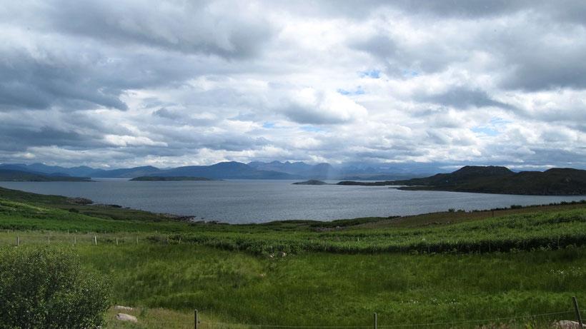 Wolken über den Summer Isles