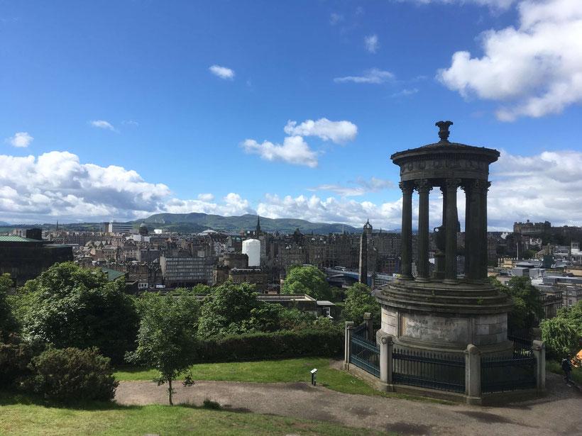Dugald Stewart Monument on Calton Hill, Edinburgh