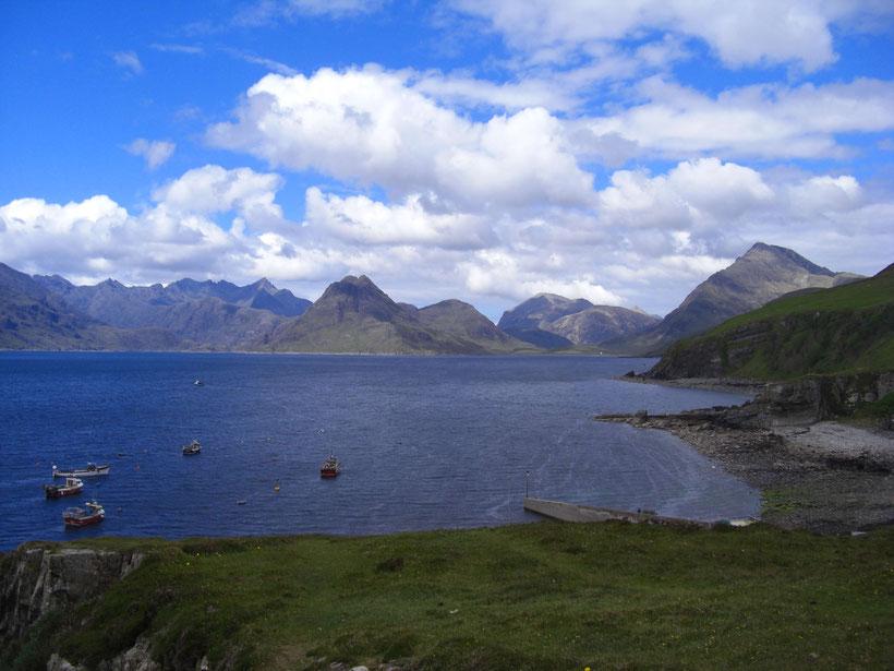 Licht und Schatten über den Cuillins, Isle of Skye