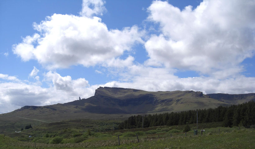 Old Man of Storr, Isle of Skye, June