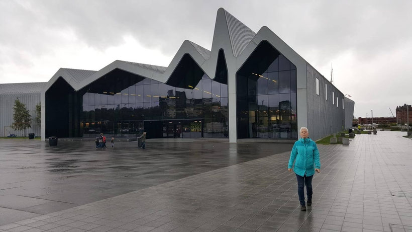 Das Riverside Museum in Glasgow