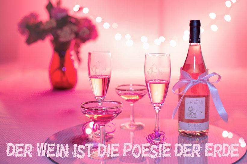 Wein ist die Poesie der Erde