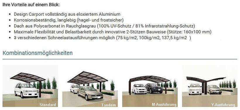 Aluminium Carport Foto