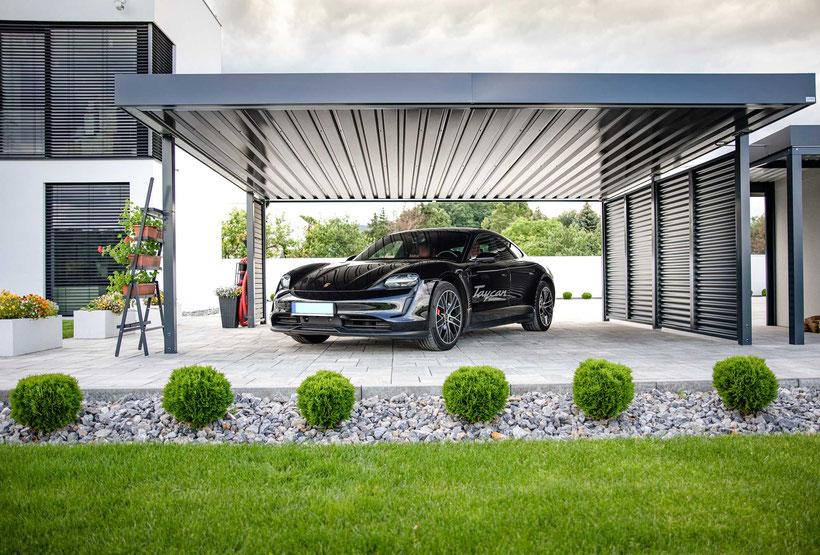 carport aus stahl carports aus stahl und aluminium gefertigt im bez baden carports aus. Black Bedroom Furniture Sets. Home Design Ideas