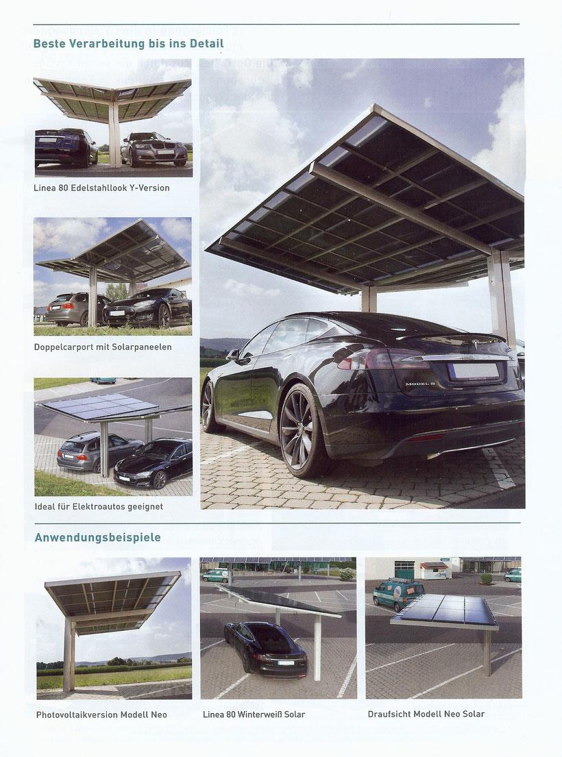 Solar-Carport Ausbau