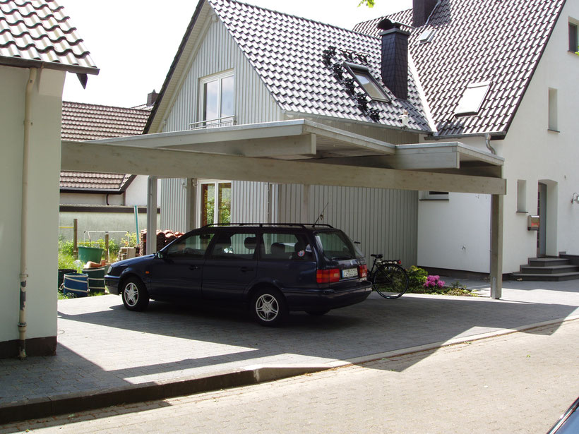Carport Sondermodell Foto