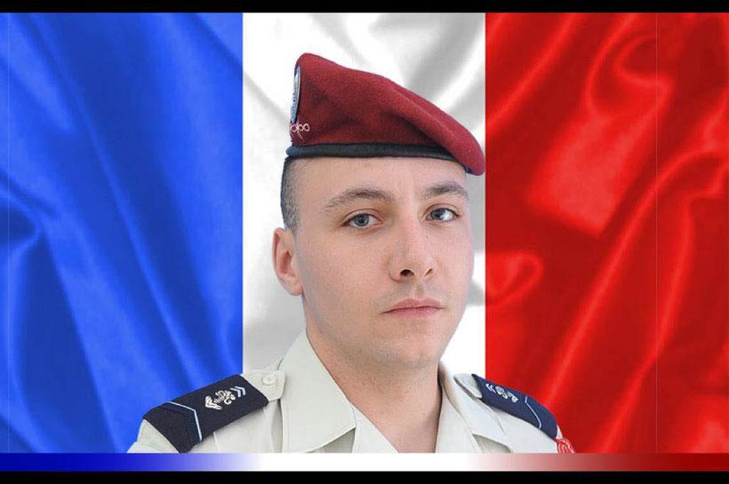 Arnaud Volpe, l'un des deux militaires tués au Mali