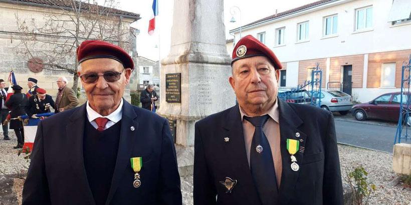 Messieurs Michel Ouzeau et Claude Guy