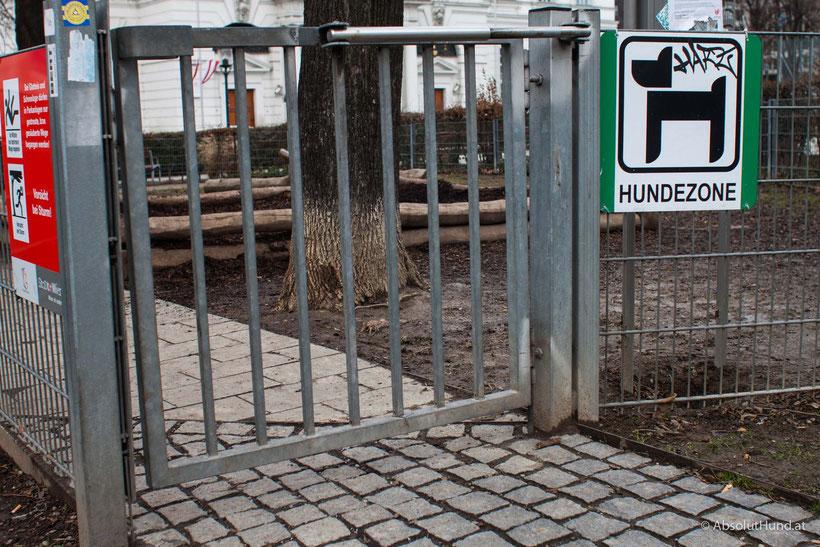 Hundezone Weghuberpark, 1070 Wien