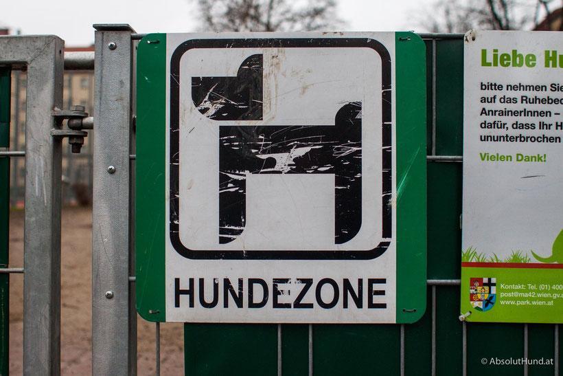 Hundezone im Steinbauerpark