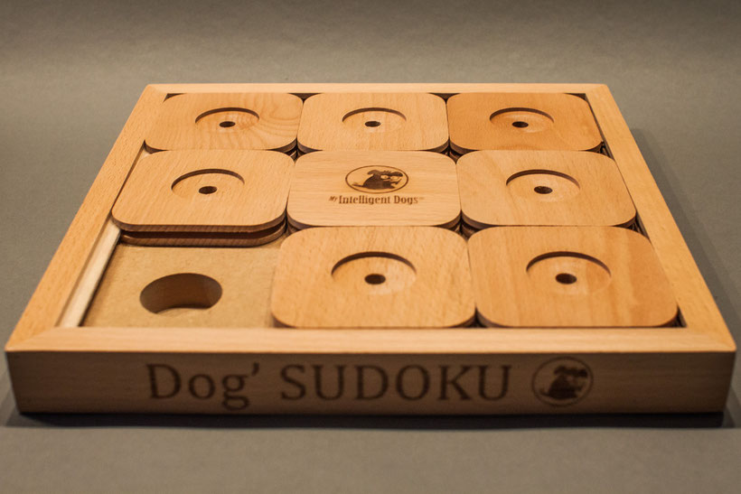 Kästchen Nr. 8: Sudoku für den Hund