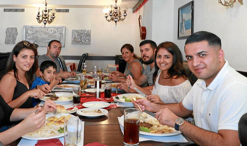 Familienfeier im Zeus