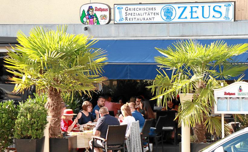 Gartenwirtschaft und Biergarten
