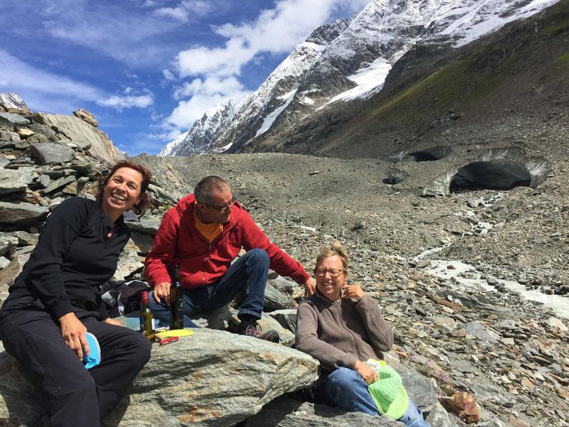 Gletschertor Langgletscher Lötschental