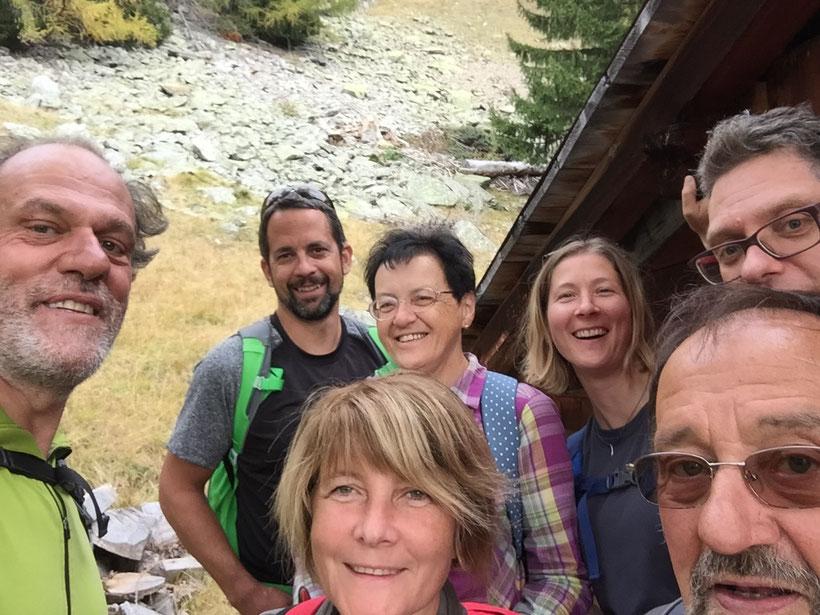 Wildhüterhütte im Roten Berg