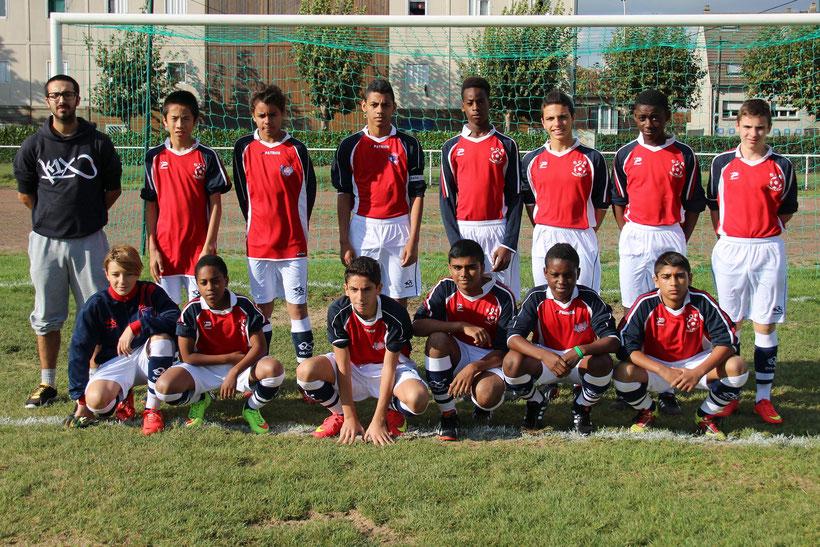 U15 B Saison 2014/2015