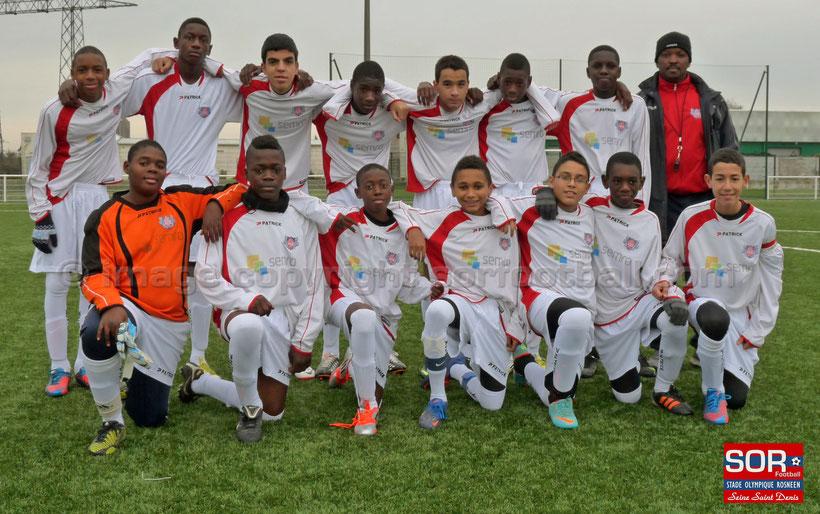 U15 équipe 2 (24/11/12)