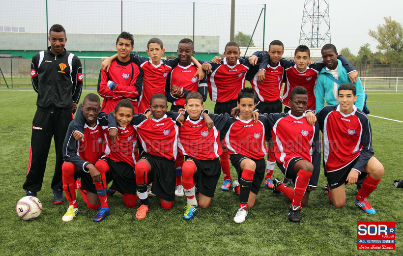 U15 équipe 1 (06/10/12)