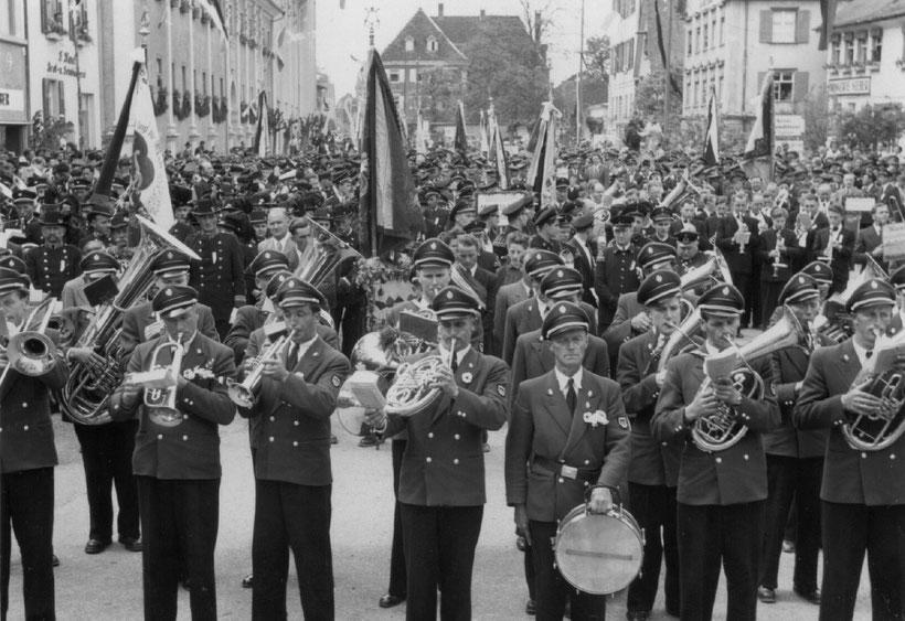 Massenchor zum Musikfest 1954