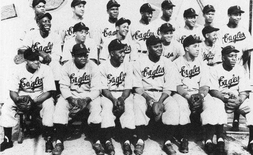 I Newark Eagles  vincitori della Negro World Series del 1946