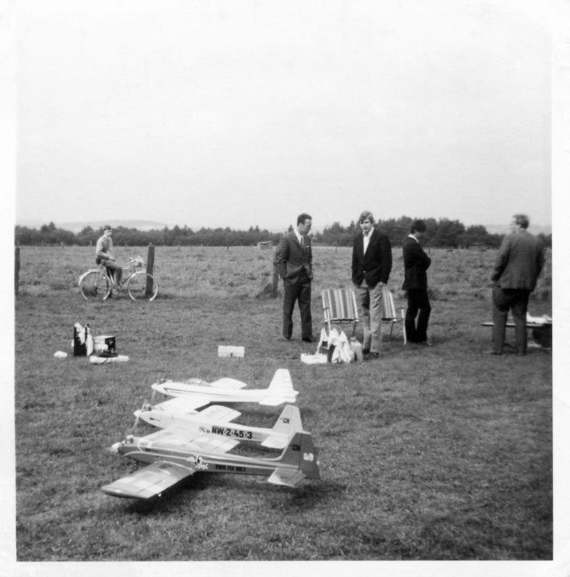 Modellflugplatz 1967