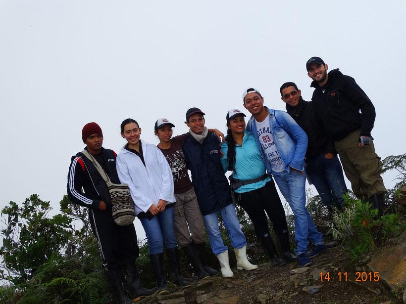 Estudiantes Herpetología Avanzada (2015-2)