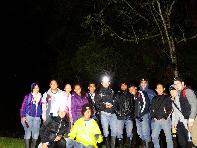 Estudiantes de Herpetología Avanzada (2014-1)