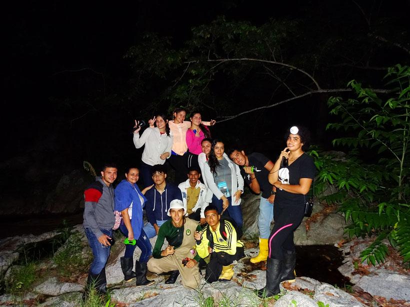 Estudiantes Herpetología Básica (2019-2)