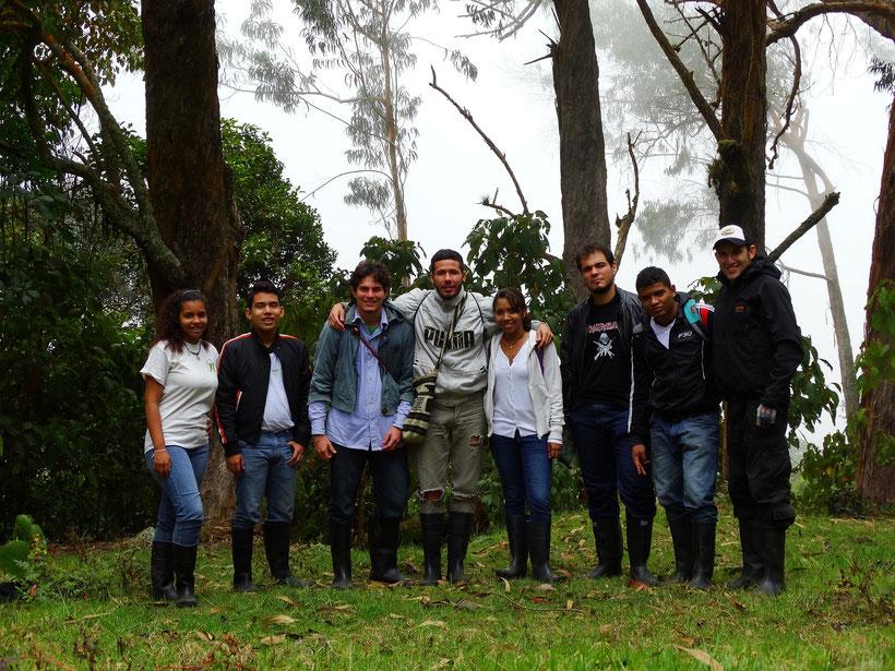 Estudiantes de Herpetología Avanzada (2015-1)