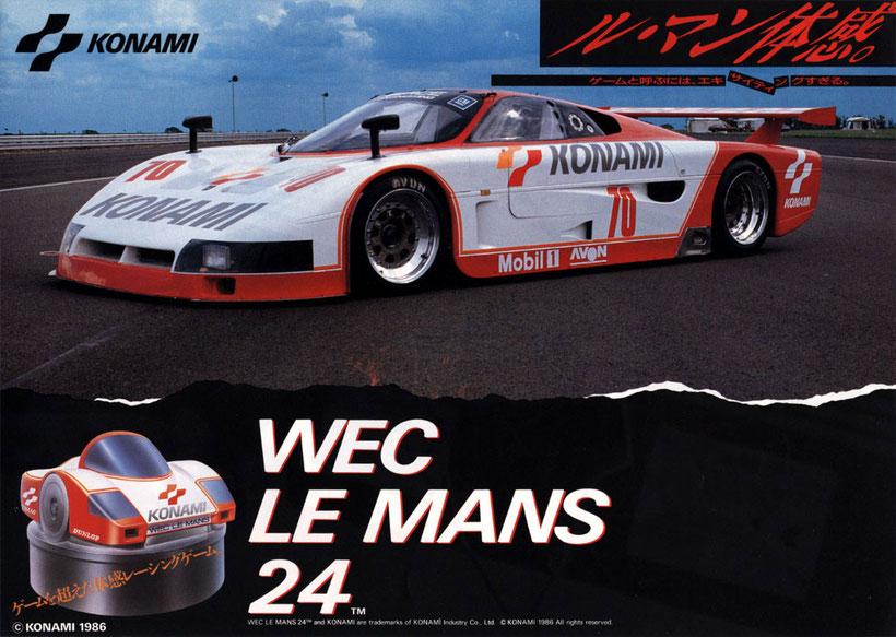 WEC Le Mans arcade