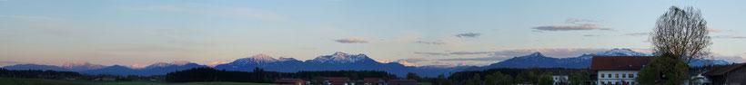 Alpenpanorama  - Foto H. Hülter